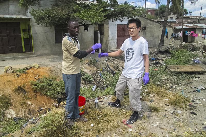Testing Water Quality in Tanzania