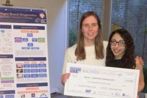 OpenDiagnostics wins London HealthTech Challenge
