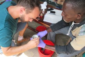 Water testing project wins photo competition