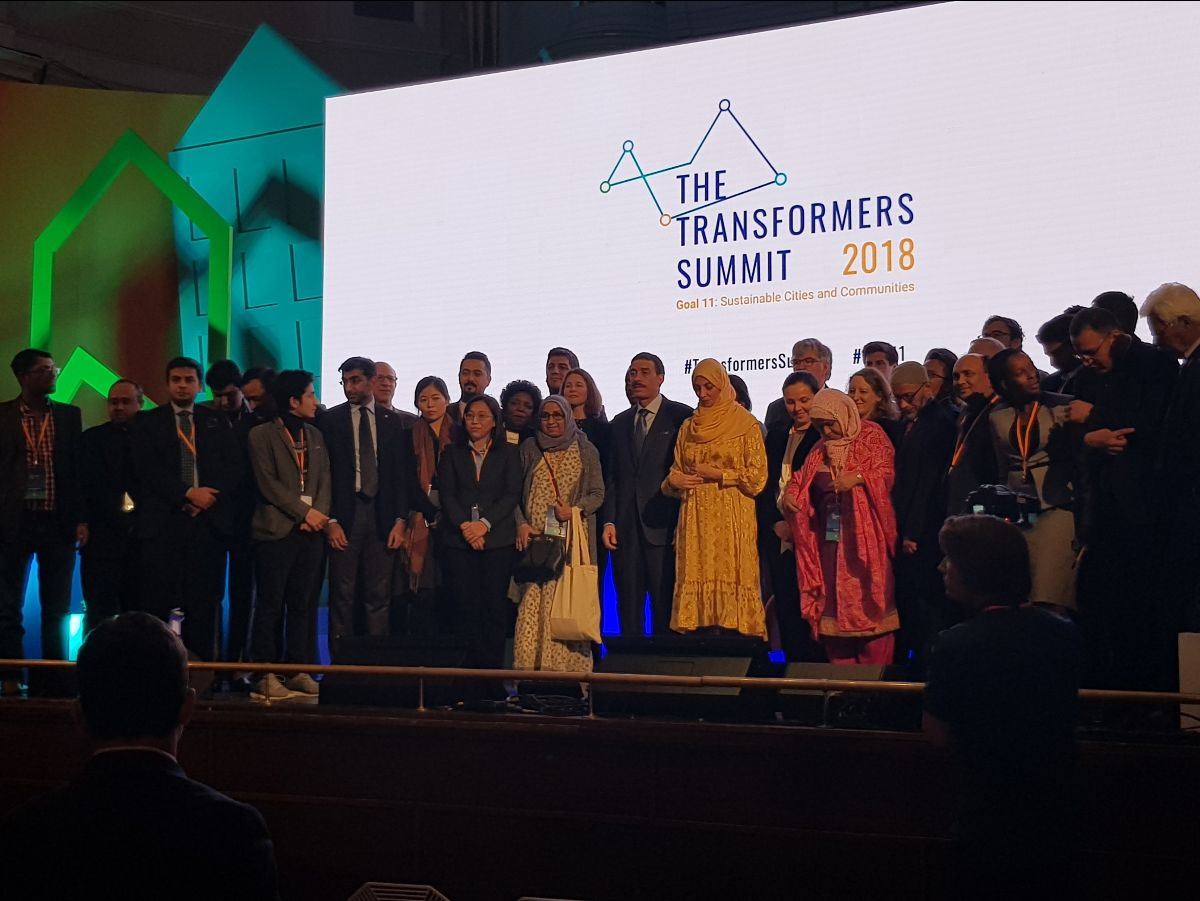 CGE at the Islamic Development Bank Transformers Summit 2018