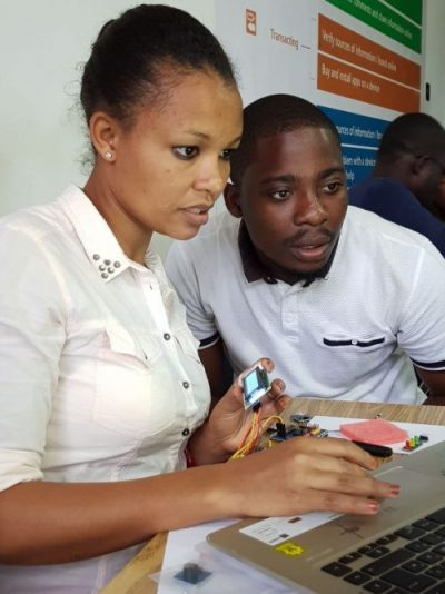 CGE Attends Biomaker Challenge Workshop in Ghana